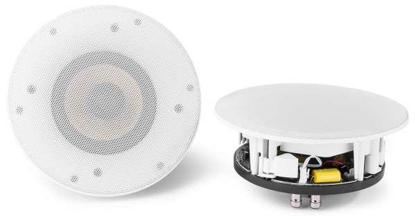 """Power Dynamics WCS50 Aktiv 5,25"""" Einbau Lautsprecher Set mit Wifi und Bluetooth"""
