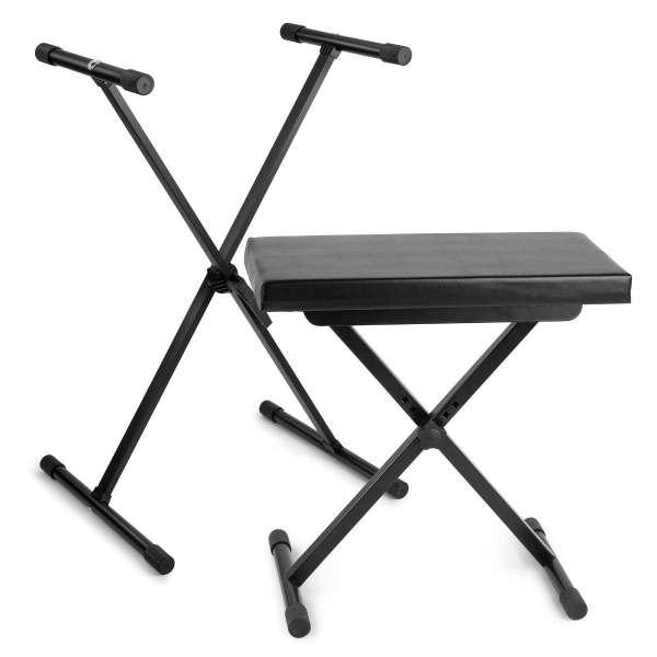 Vonyx Keyboard Set Ständer und Hocker