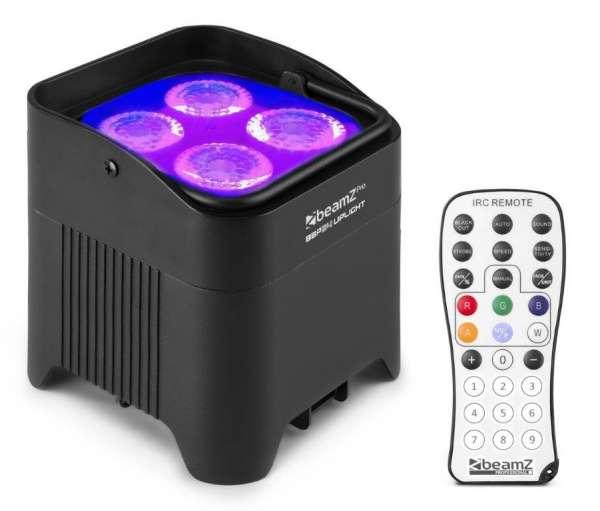 BeamZ BBP54 Akku LED Uplight IP65 Outdoor 4 x 12W