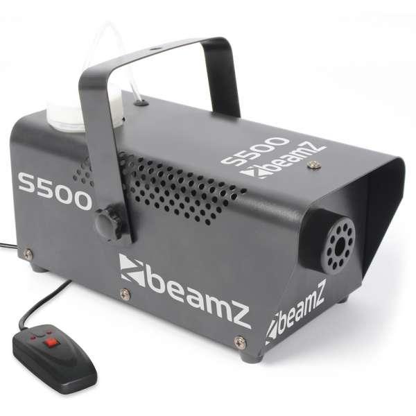 BeamZ S500 Nebelmaschine mit 250ml Nebelfluid