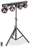 MAX Parbar LED Lichtanlage mit 4 x PAR RGBW