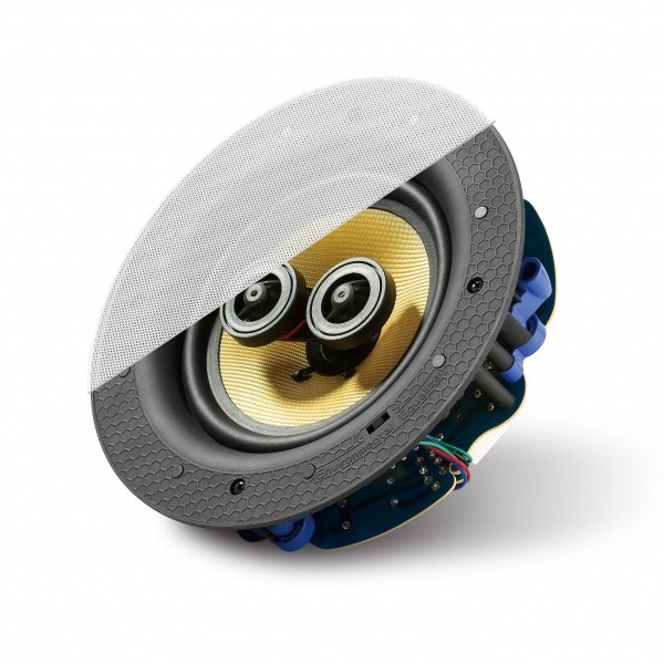 """Lithe Audio 2-Wege Premium Stereo Einbaulautsprecher 6,5"""" passiv"""