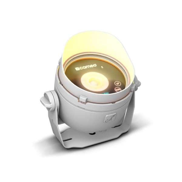 Cameo DROP B1 weiß Akkubetriebenes Outdoor Mini Uplight