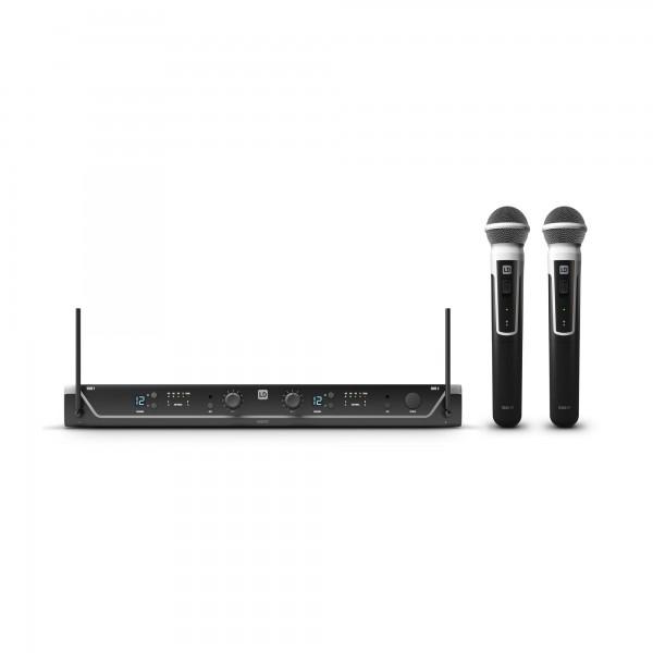 LD Systems U305.1 HHD 2 - Funkmikrofon System mit 2 x Handmikrofon dynamisch