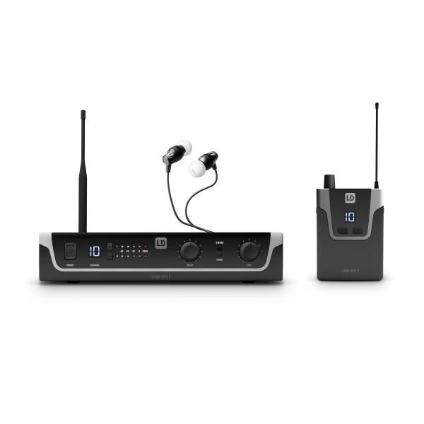 LD Systems U304.7 IEM HP - In-Ear Monitoring System mit Ohrhörern