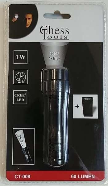 Chess Tool LEDs Taschenlampe 1 Watt inkl. Tasche