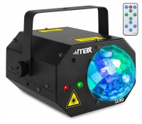 MAX DJ10 Lelly Moon mit Laser Lichteffekt