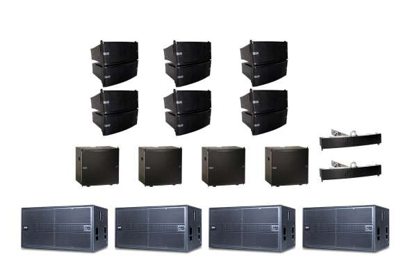 dB Technologies DVA Mini M2 Line Array Set XL