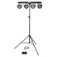 Showgear Vibe FX Party Bar Set komplette LED Lichtanlage