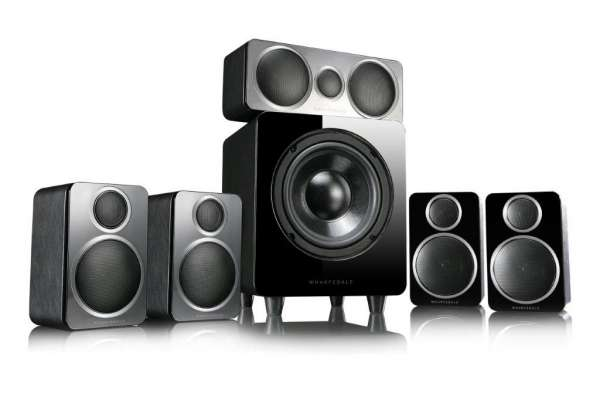 Wharfedale DX-2 5.1 HCP System Black Leather