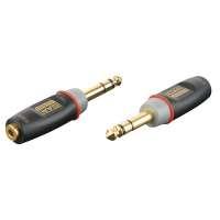 DAP - Audio 3p Klinke M / 3p Miniklinke F Adapter Stereo