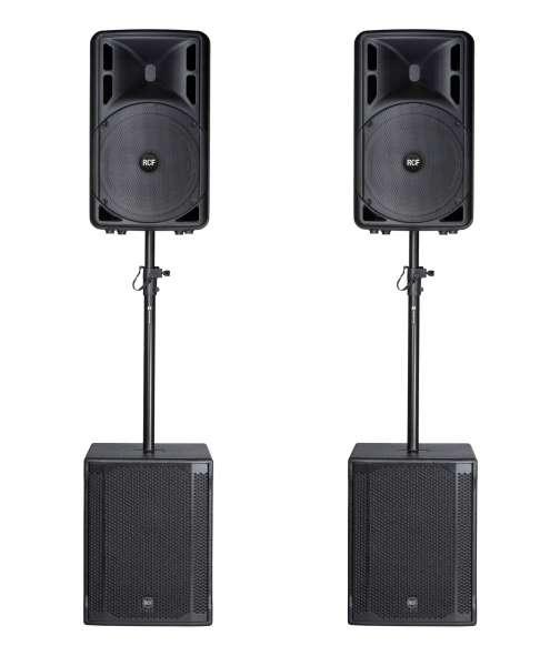 RCF ART 312-A MKIV Club PA Set