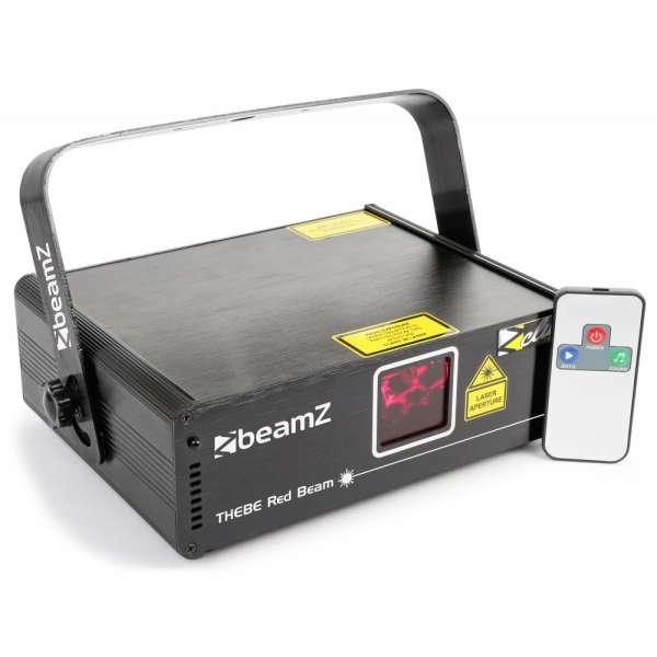 BeamZ Thebe Laser 150mW Red Beam DMX IRC