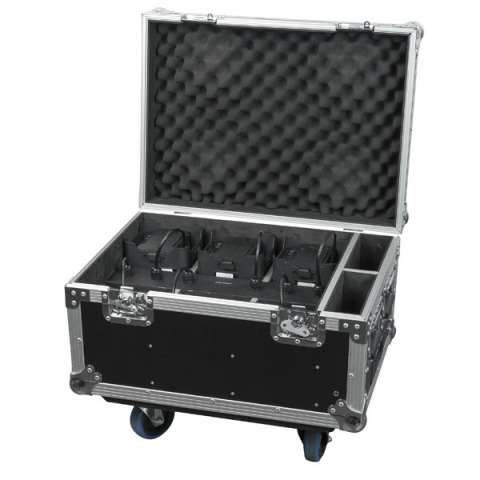 Showtec EventLITE 4/10 Q4 Set 6x incl. Flightcase