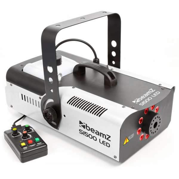 BeamZ S1500LED Smoke Machine 9x 3W RGB DMX