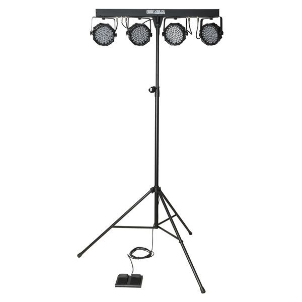 Showgear Vibe FX Party Bar Set komplette LED Lichtanlage