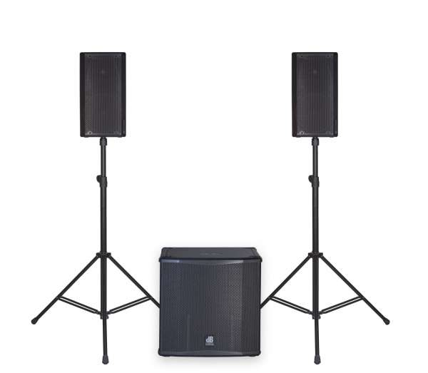 dB Technologies OPERA 10 Entertainer Set